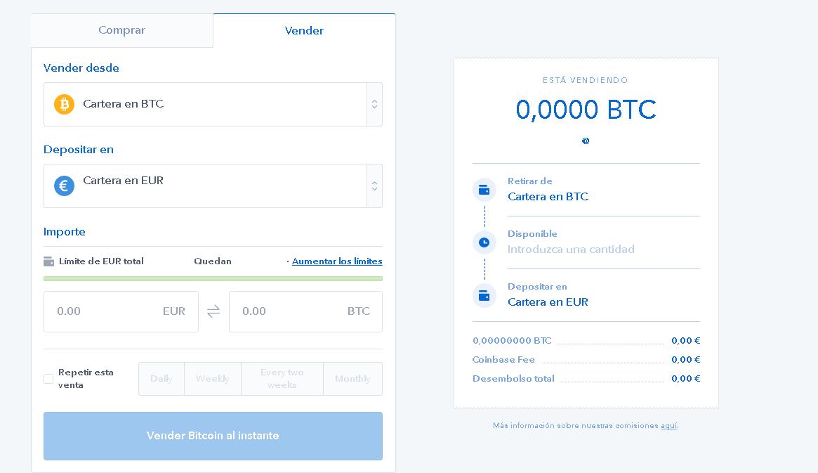 vender bitcoin coinbase 2017 2018 2019