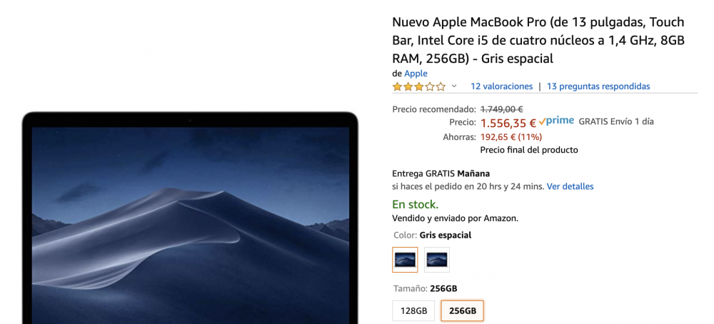 como comprar un macbook barato en españa amazon